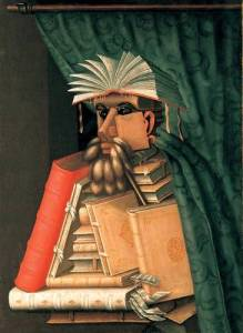 "Arcimboldo painting ""The Librarian"""