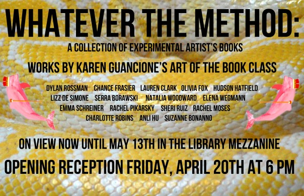 Whatever the Method Book Art Poster 2012
