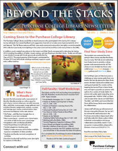 image of online fall 2012 newsletter