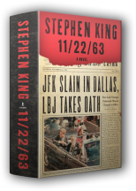 cover art for Stephen King's JFK novel
