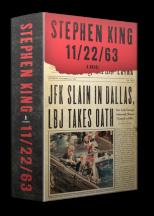 cover art for Stephen King's JFK novel