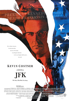 poster from Oliver Stone film JFK