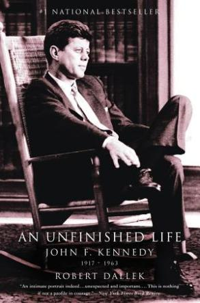 cover image of JFK biography An Unfinished Life