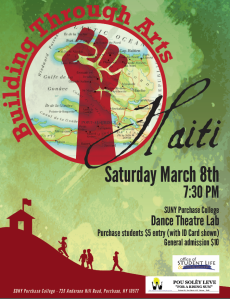 Building Through Arts: Haiti poster