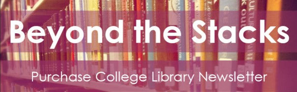 image of banner from library newsletter