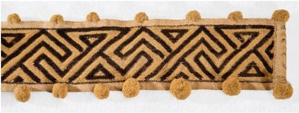 kuba woven textile